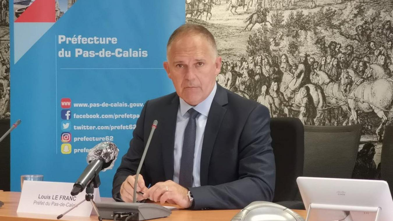 Si la situation globale s'est nettement améliorée, le préfet du Pas-de-Calais Louis Le Franc estime qu'il faut rester prudent.