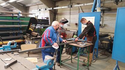 Le lycée Brasseur propose de nombreux ateliers techniques pour parfaire les connaissances