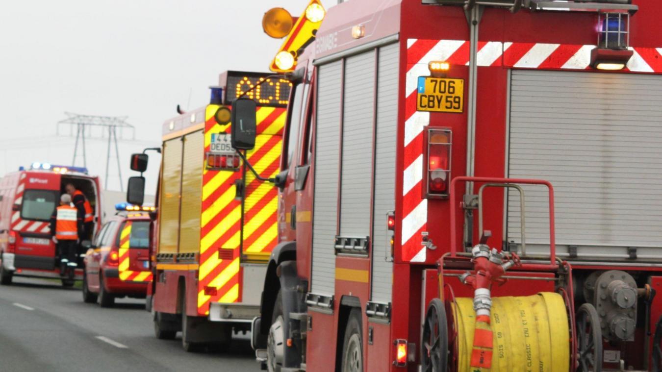 Un accident s'est produit sur l'A16 mardi soir (illustration).