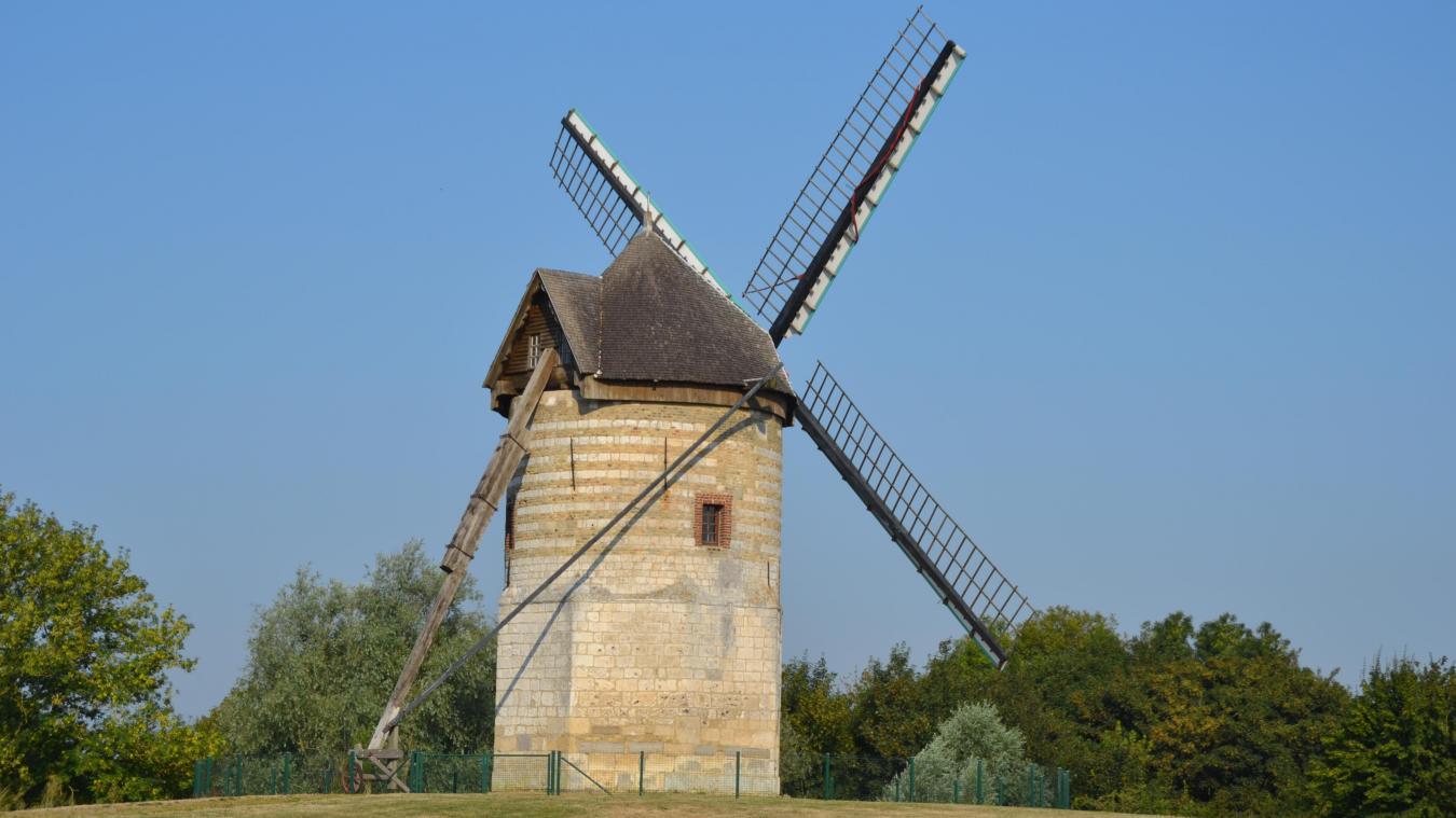 Le moulin situé sur la montagne de Watten, belvédère naturel de la ville, est ouvert tous les dimanches jusqu'en septembre.