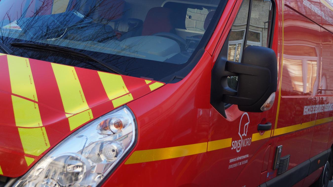 L'intervention a mobilisé 22 sapeurs-pompiers.