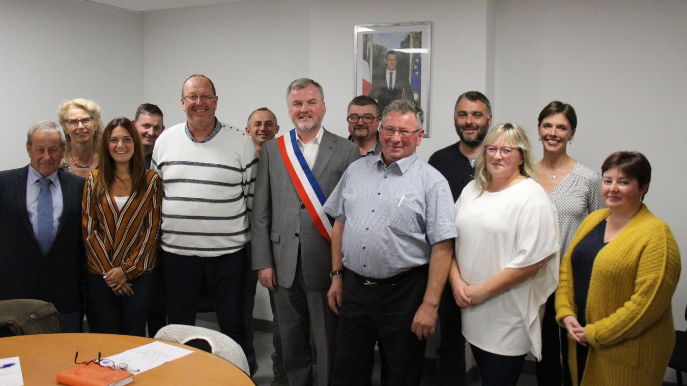 La commune de Wirwignes a un nouveau maire en la personne d'André Goudalle.
