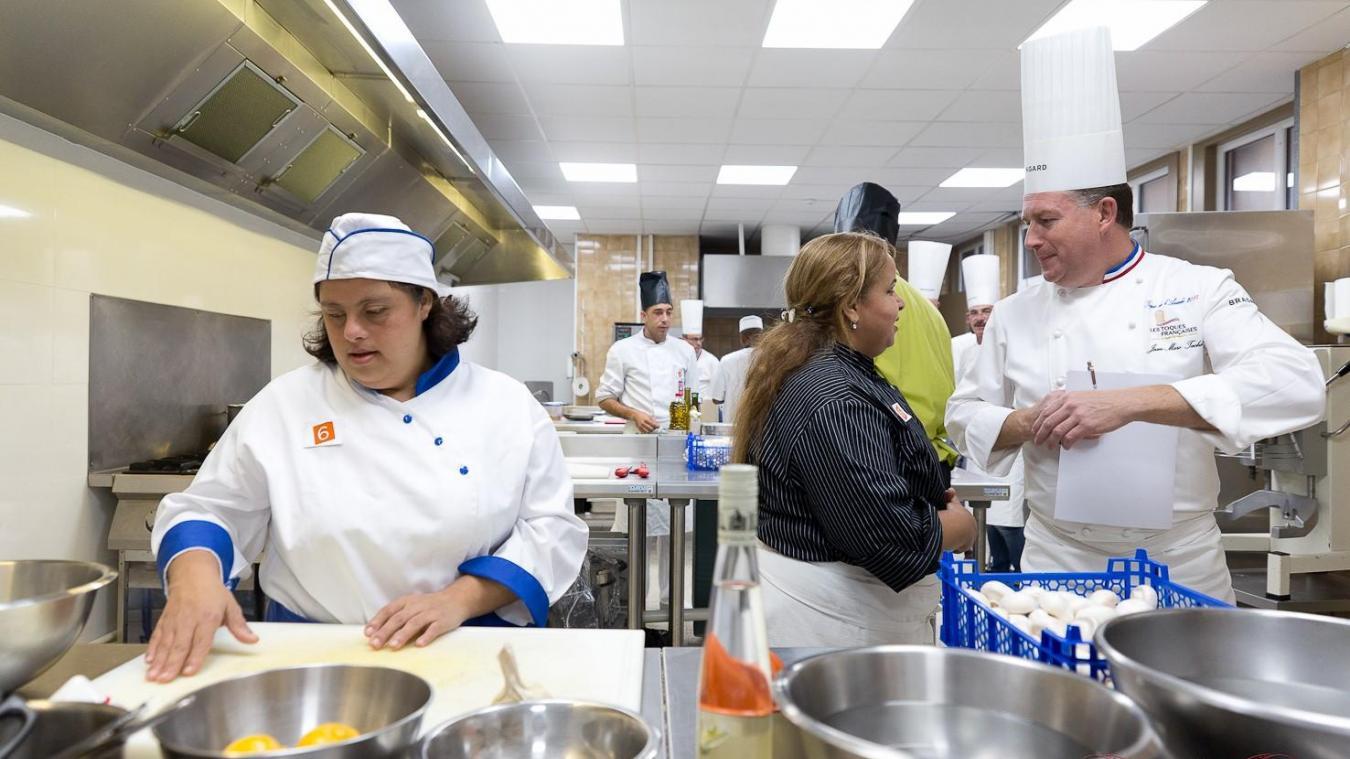 L'assiette Gourm'hand est un concours culinaire dédié aux personnes en situation de handicap. (©Emilio Prenas)
