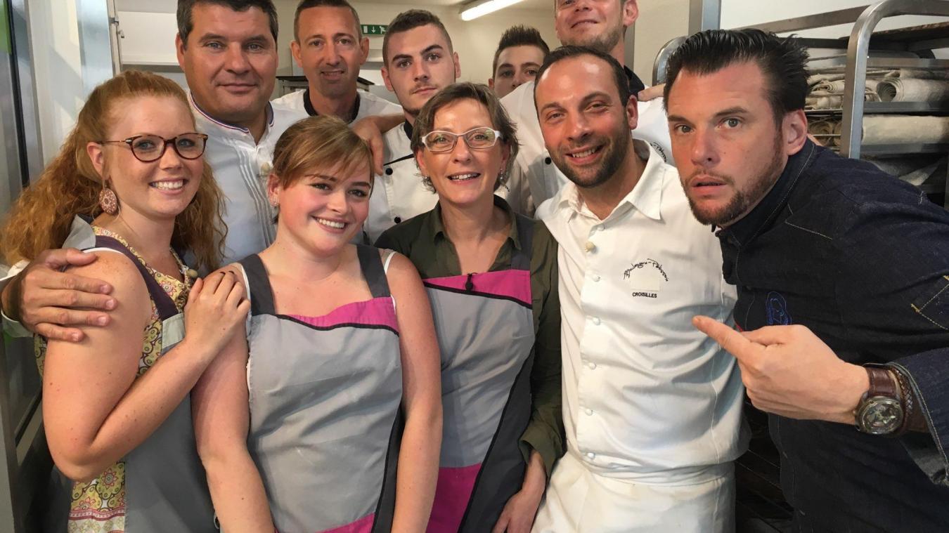 Portail Des Flandres Salome croisilles: la boulangerie salomé a brillé sur m6