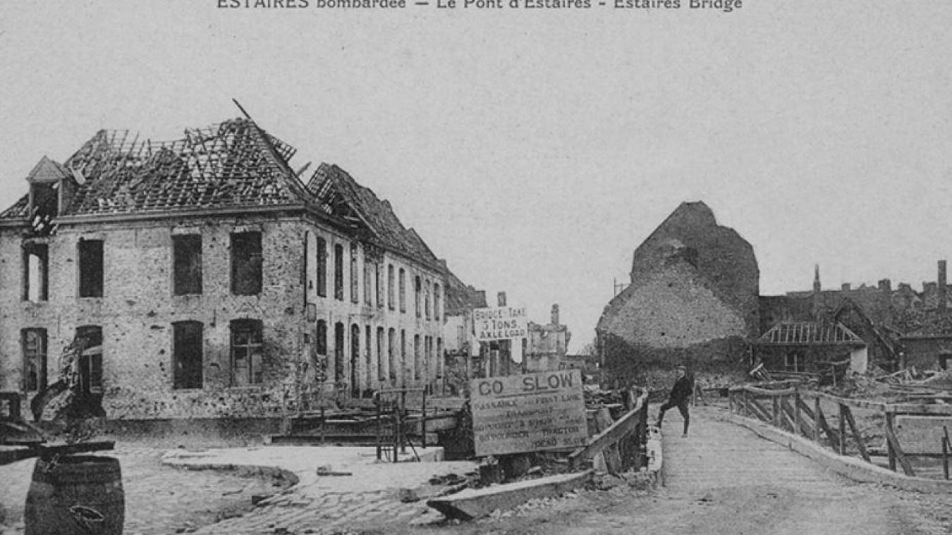 Le massacre du pont d'Estaires est l'un des moments les plus dramatiques qu'a connu notre secteur pendant la Première Guerre mondiale.