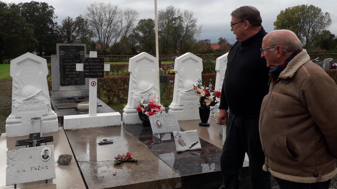 Centenaire de la Première Guerre mondiale : Henri Pagerie honoré le 11 novembre