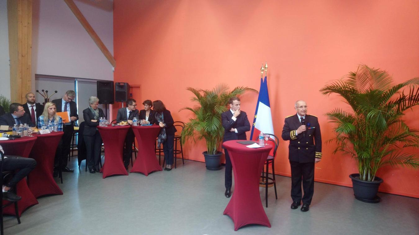 Le président à Lens: «l'emploi des jeunes au cœur de la lutte contre la pauvreté»