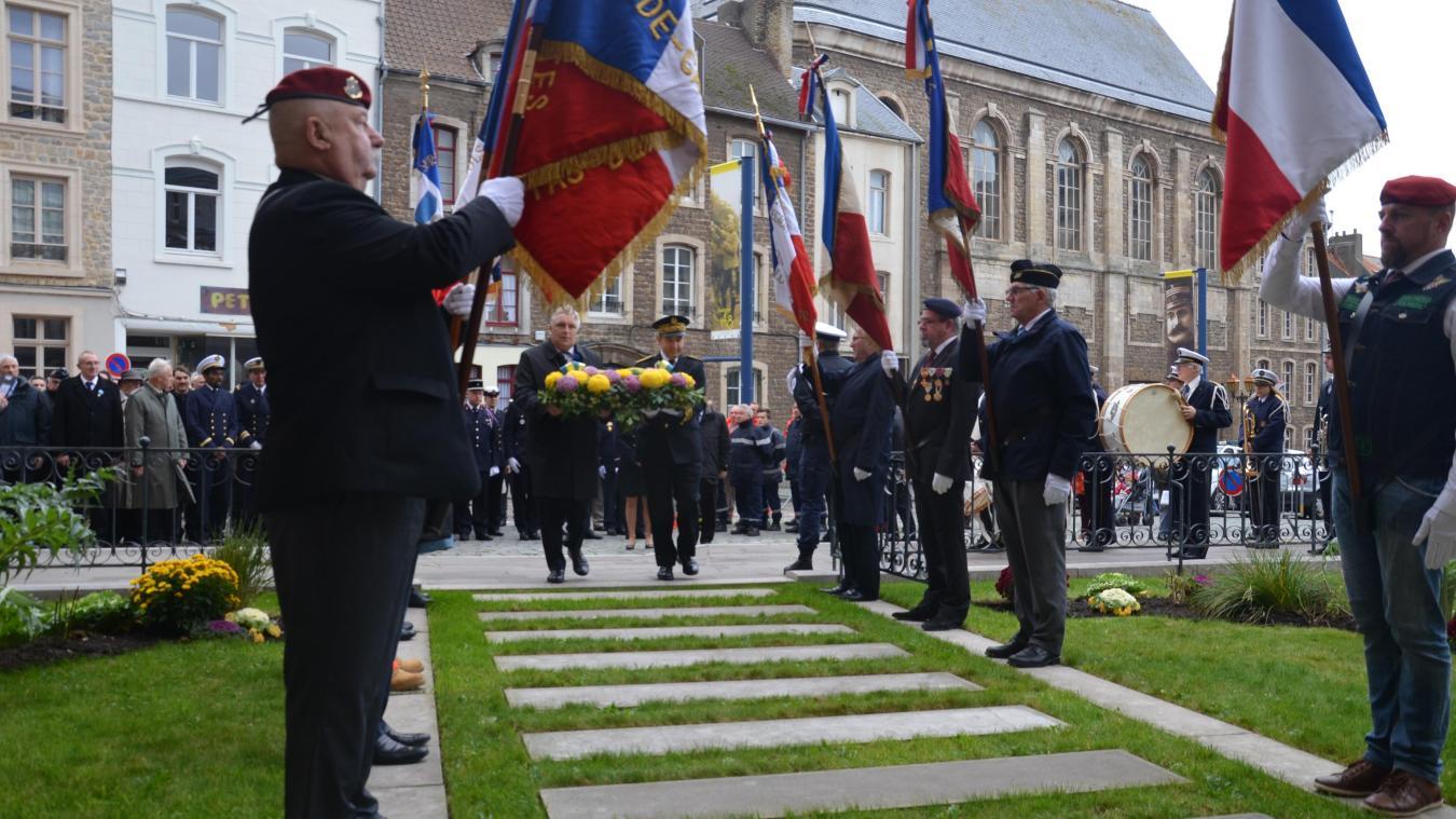 Les élus et la population ont célébré le centenaire de la fin de la Première Guerre mondiale ce dimanche matin.