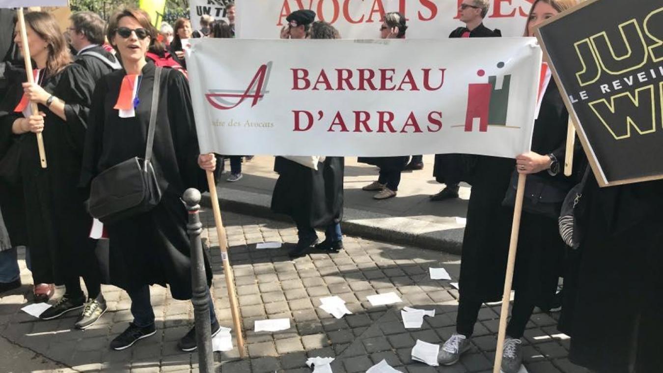 Les avocats d'Arras ne plaideront pas ce jeudi 15 novembre