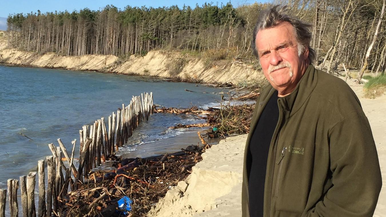 Le président de l'association SOS Baie d'Authie appelle à la mobilisation.
