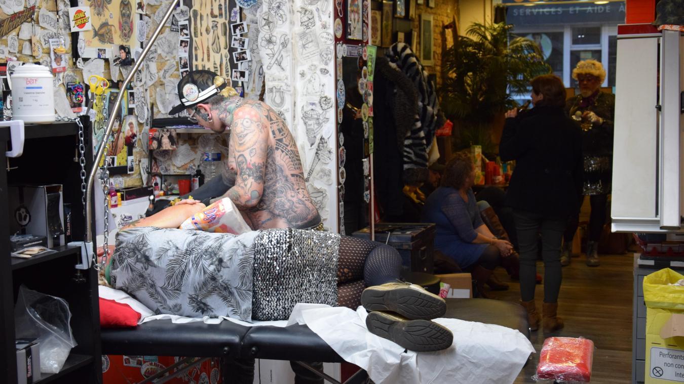 Dunkerque Concours Le Nouveau Tatouage Des Comtesses De