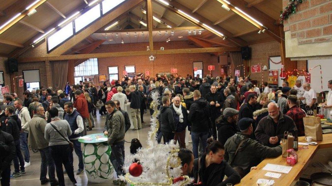 Le salon des bières de Noël est organisé au sein de la salle de fêtes de Méteren.