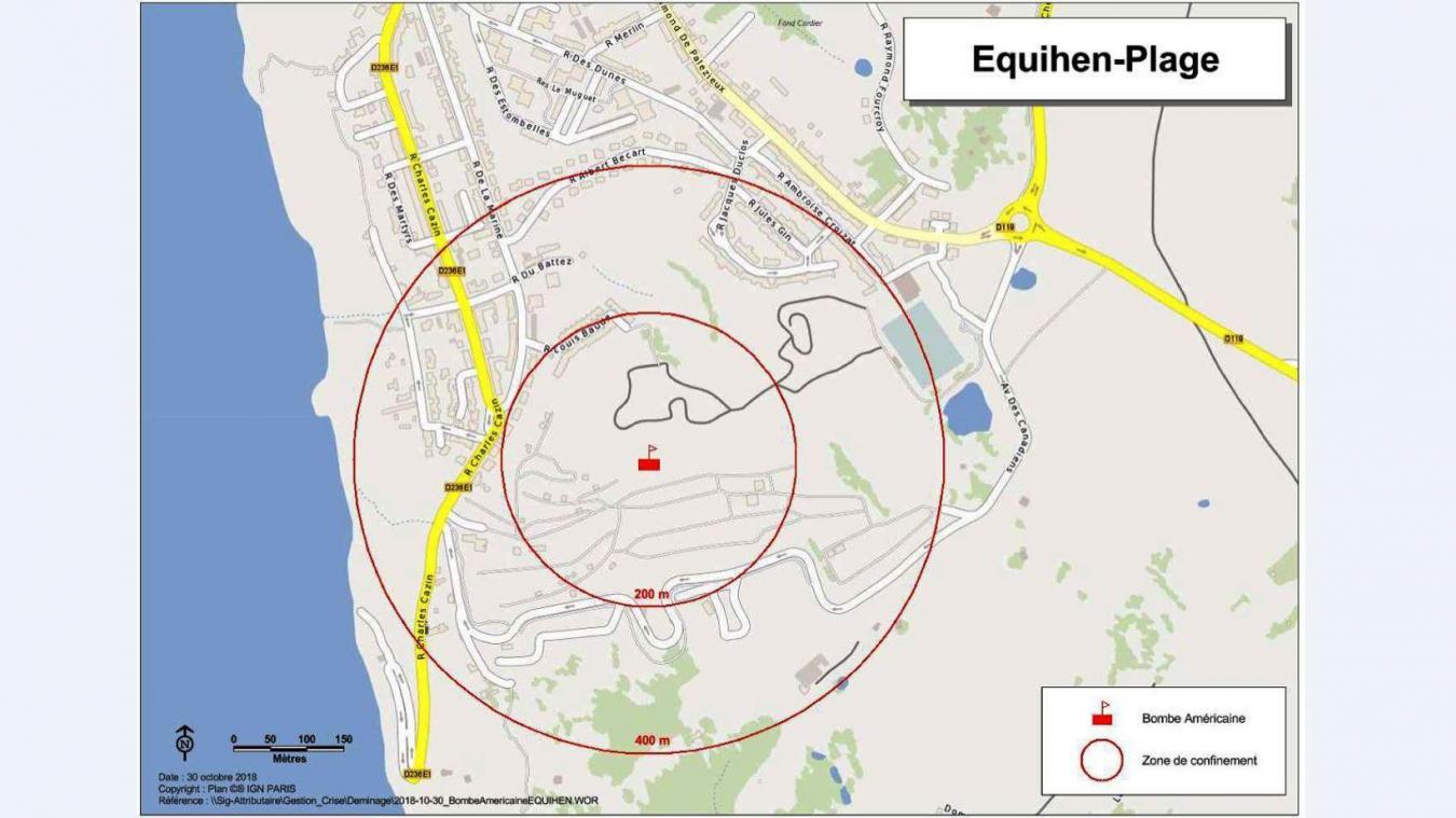 Déminage à Équihen-Plage: les détails de l'opération
