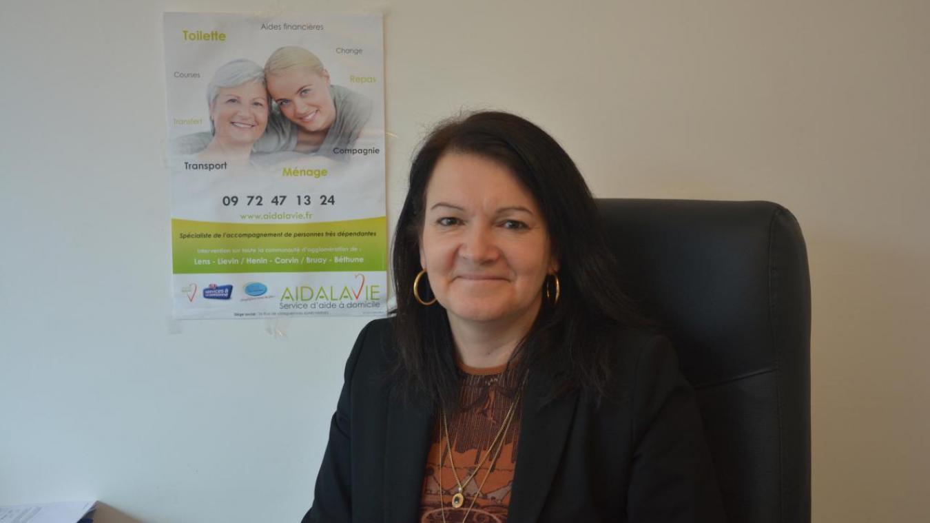 Isabelle Dudillieu a pris la direction de l'agence bruaysienne d'Aidalavie.