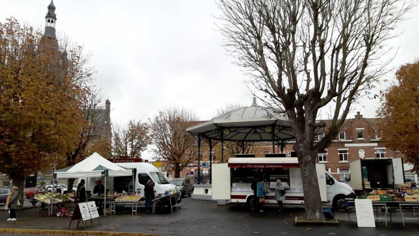 Un nouveau marché le samedi matin à Merville
