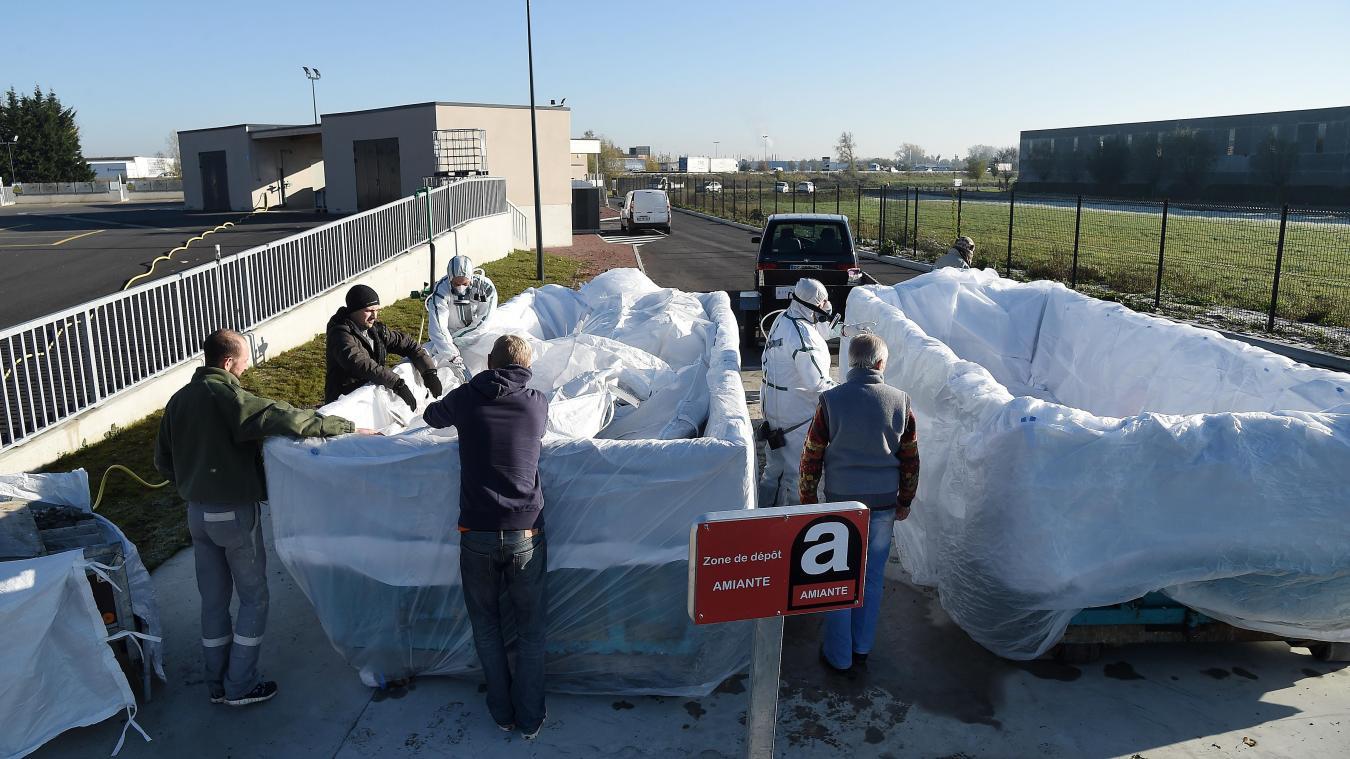 La collecte de l'amiante pour les communes du Smictom est organisée à la déchetterie de Bailleul.