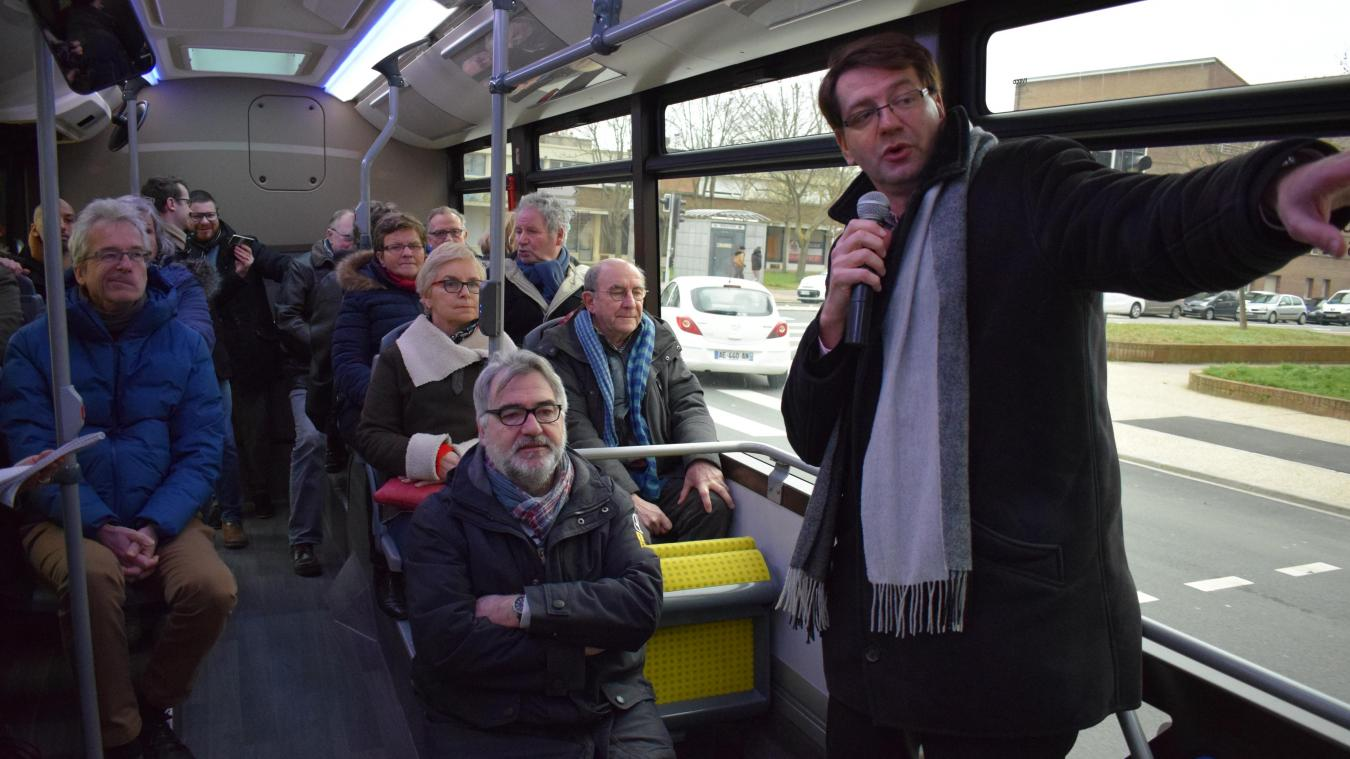 Un trajet en bus avec la Ville pour parler de l'ex-pénétrante