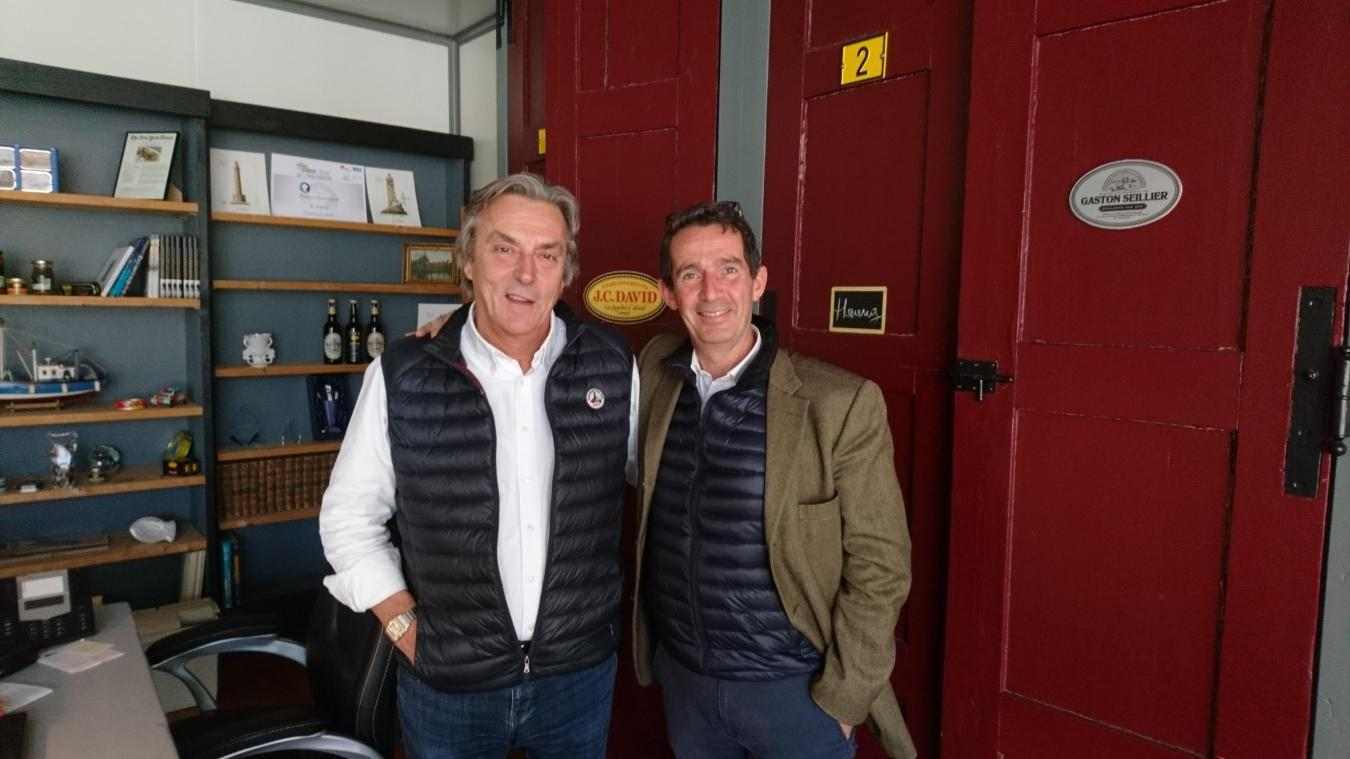 Hervé Diers laisse sans crainte la présidence de JC David à Philippe Fromantin.