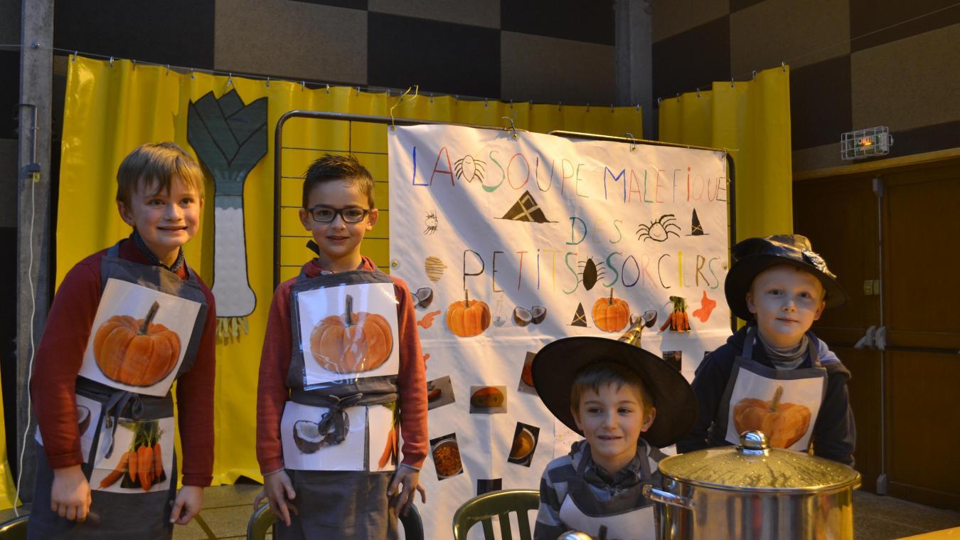 Un concours de soupes pour les enfants est également organisé  !
