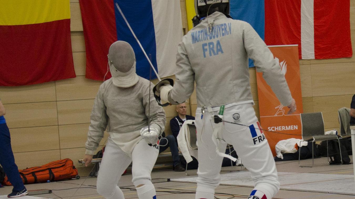 Véronique Martin-Bouyer est encadrée par ses filles lors de ses entraînements.