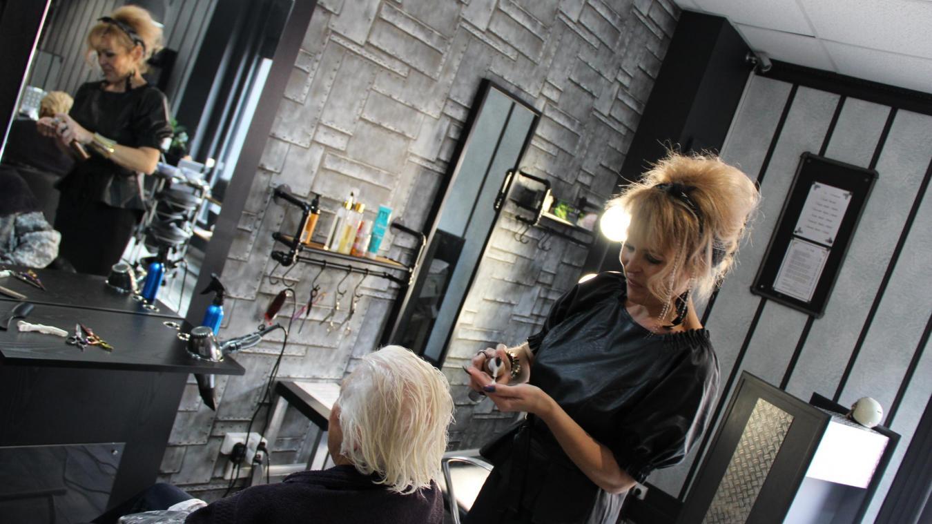 Par son action, la directrice de Prestige coiffure espère également initier un mouvement auprès des autres commerçants du secteur.