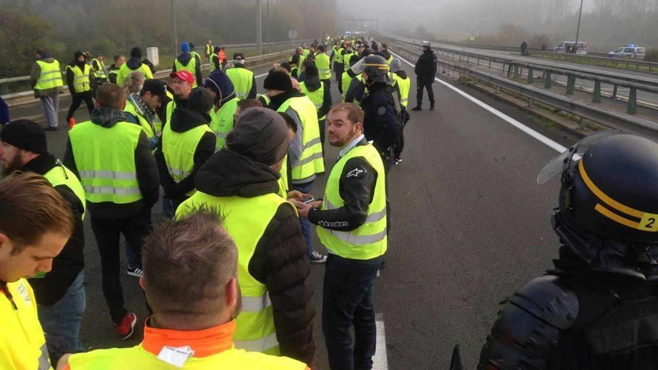 Gilets jaunes : quelle est la situation sur l'autoroute A16?