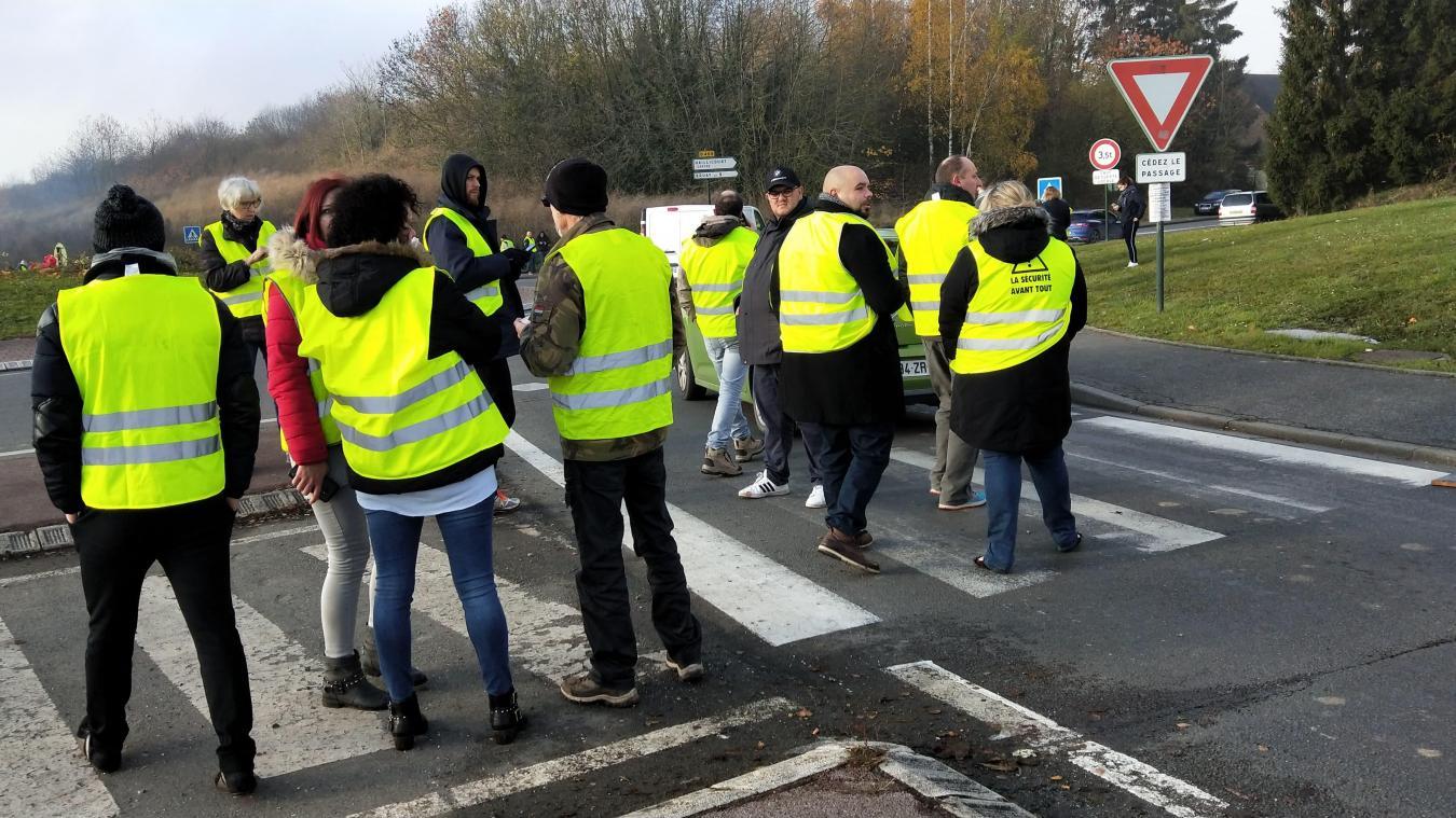 Bruaysis: Gilets jaunes, le point à la mi-journée (Vidéos)
