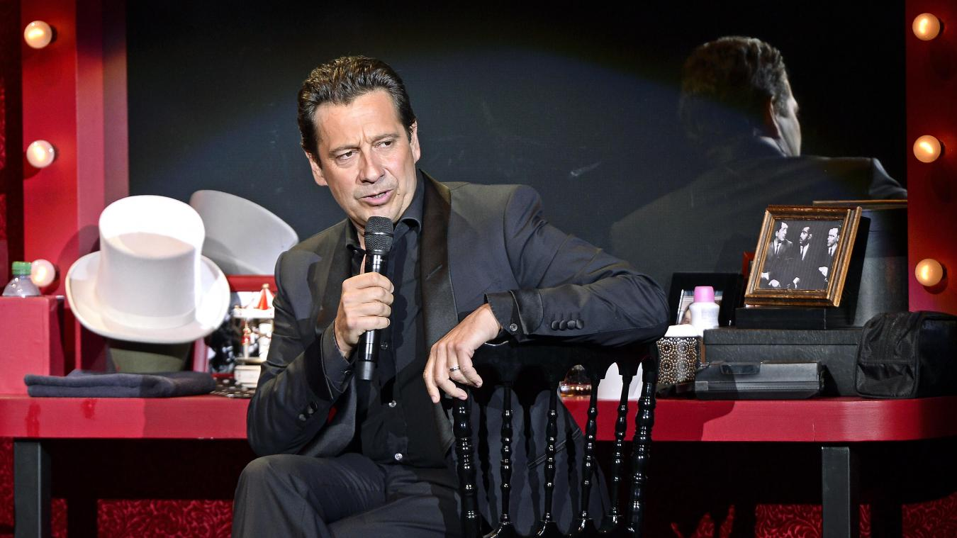 Dans son nouveau spectacle, « Sans modération », Laurent Gerra invite le public dans sa loge.