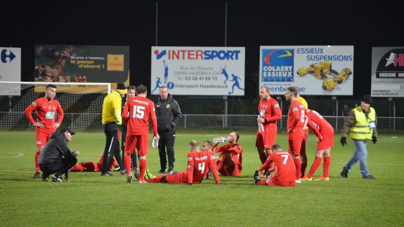 Football : cruelle fin d'aventure pour les Cheminots d'Hazebrouck