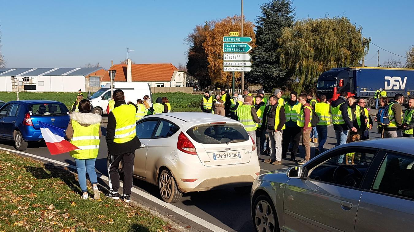 Lillers: un motard blessé en marge de la manifestation des Gilets Jaunes