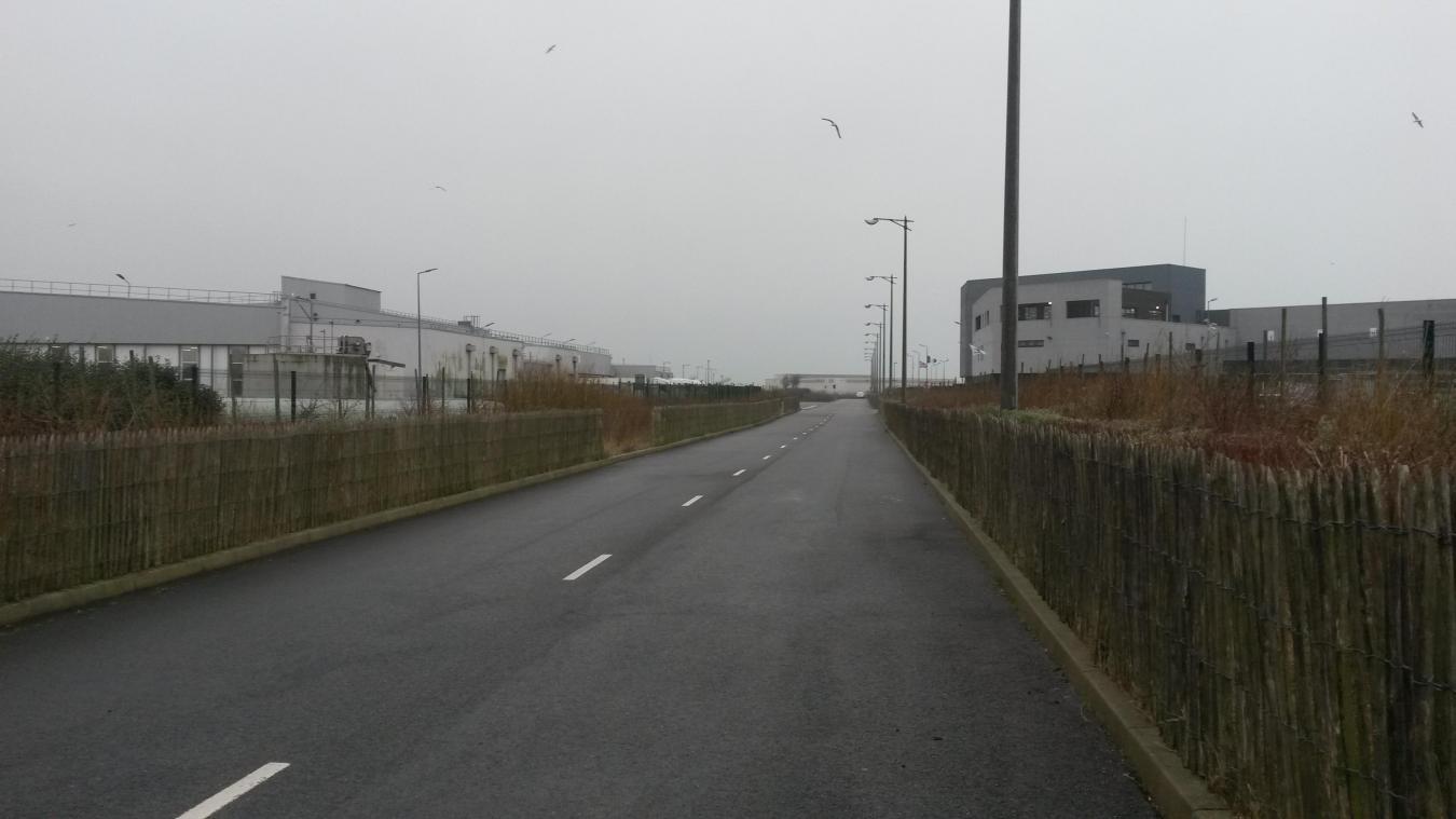 L'implantation de l'usine de Grand Frais était prévue du côté de Marine Harvest et Capitaine Houat.