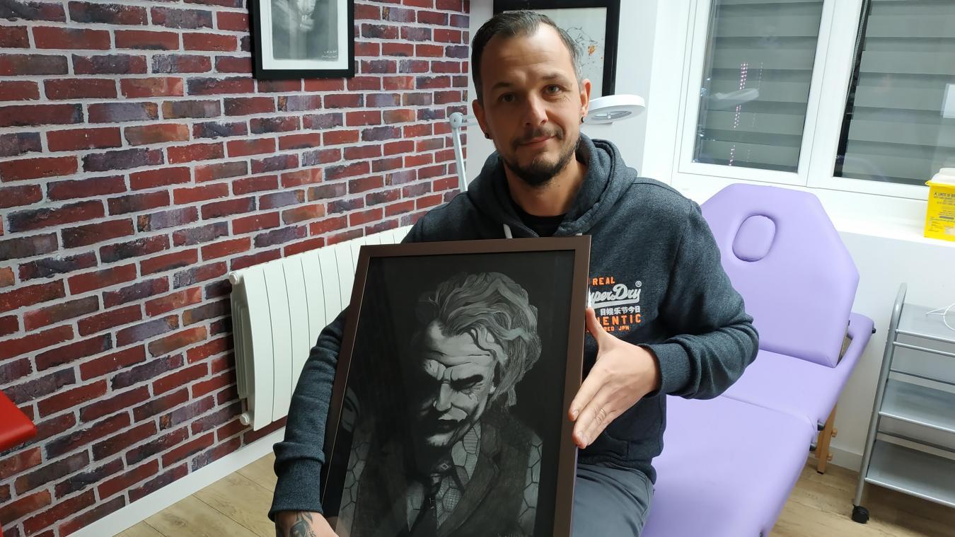 Billy-Montigny: militaire, ambulancier, mécanicien… Il devient tatoueur