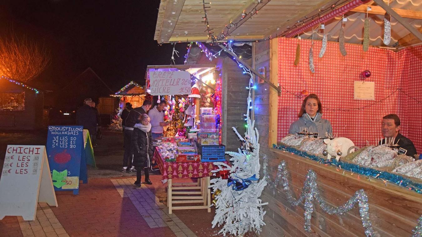 Nœux-les-Mines: le marché de Noël ouvre jeudi