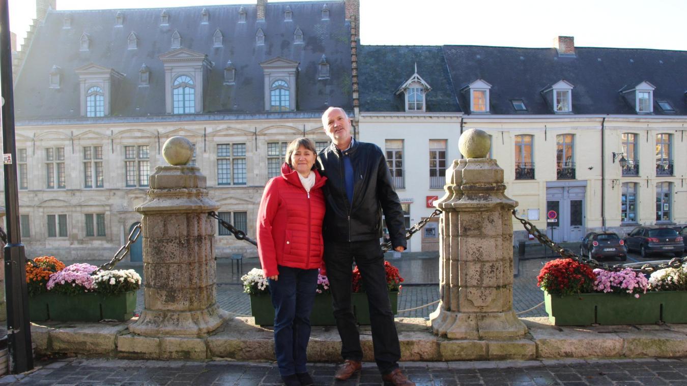 Lydie et Michel Ballieu ont déjà tenu ce genre de magasin, à Bergues entre 1999 et 2005. Ils veulent de nouveau tenter l'aventure avec Aux Caves de Cassel.