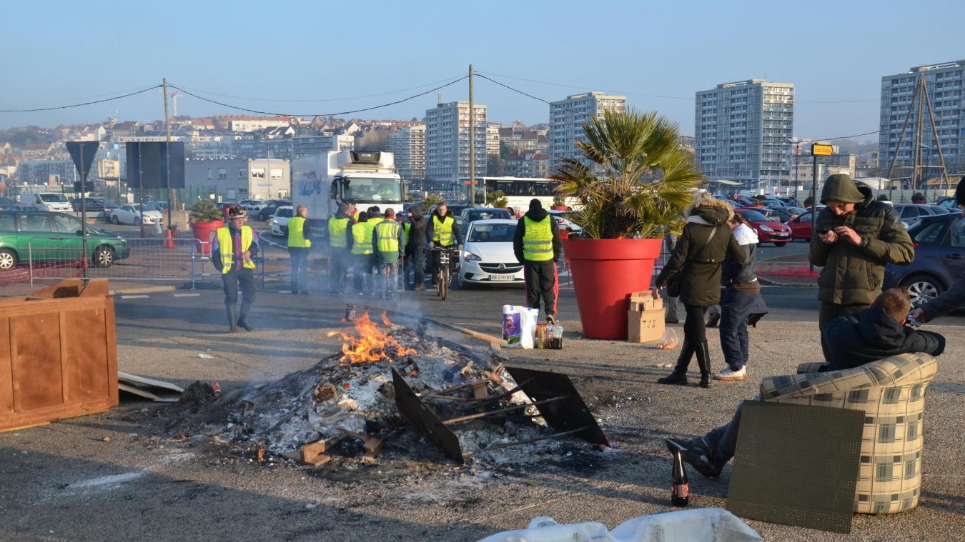 Les barrages filtrants se poursuivent ce mercredi à Boulogne