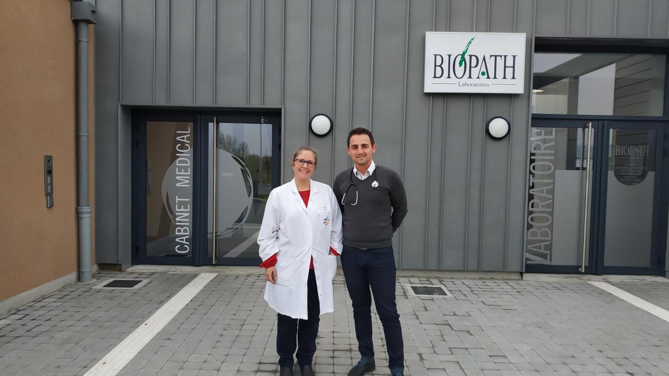 Claire Cavel, docteur en biologie et Guillaume Dewevre, médecin généraliste sont à l'origine du projet.