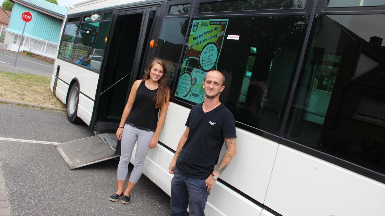 Barlin : le bus pour l'emploi a déjà aidé, en trois mois, 150 personnes