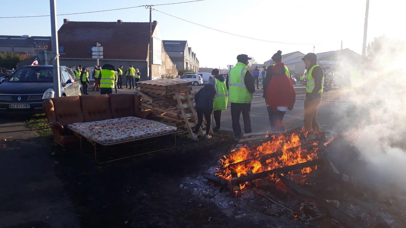 Gilets jaunes : la réparation des routes coûtera 500 000 euros au Département du Nord
