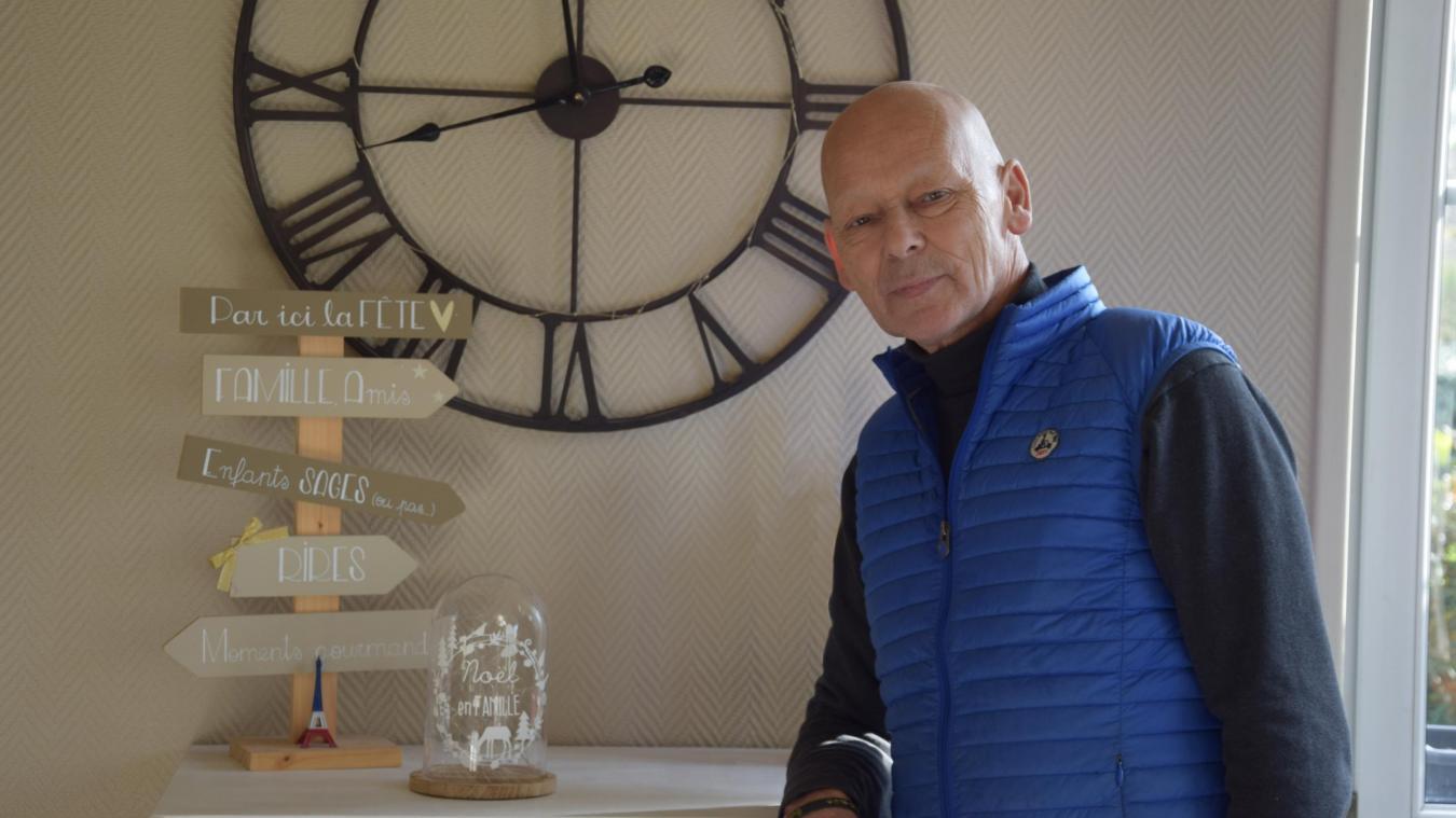 Grégoire Campion, le « maître des horloges » de la Parade de Noël du Touquet.