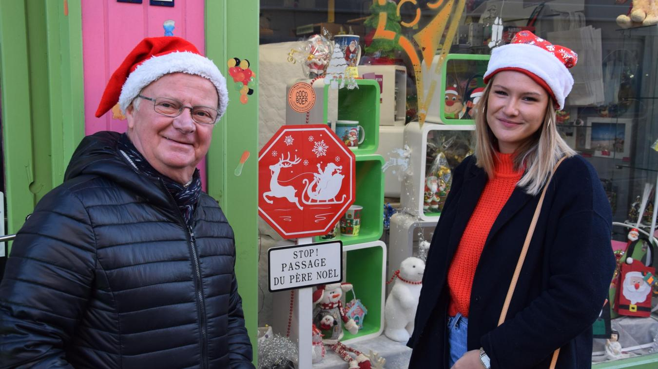 Michel Guilbert, président des commerçants, et Suzanne Decristoforo l'affirment :  « Berck a tout ce qu'il faut pour passer de belles fêtes de Noêl ! »