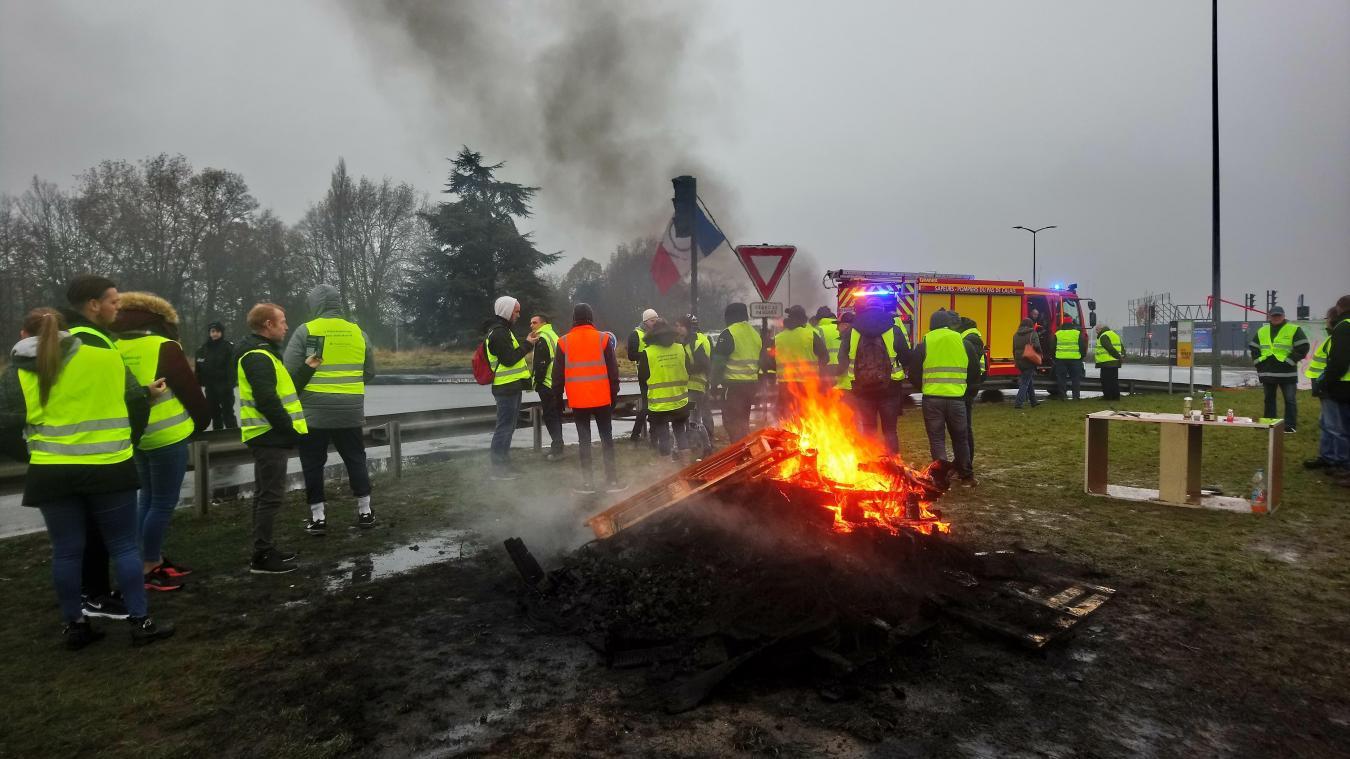 Béthunois-Arras-Lensois: Gilets jaunes, le bilan à 16 heures (Actualisé-Vidéo et nouvelles photos)