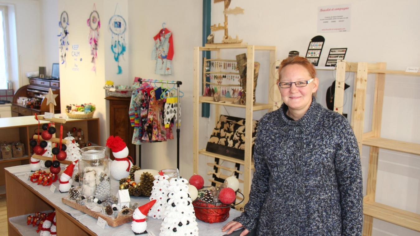 Sandrine Dufour a ouvert sa boutique de créateurs rue Dupontchel.