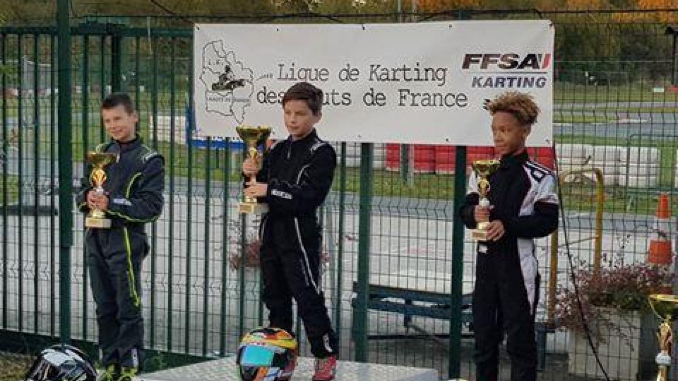 Darell Bury (à droite sur la photo) a terminé 3 e  du championnat régional des Hauts-de-France.