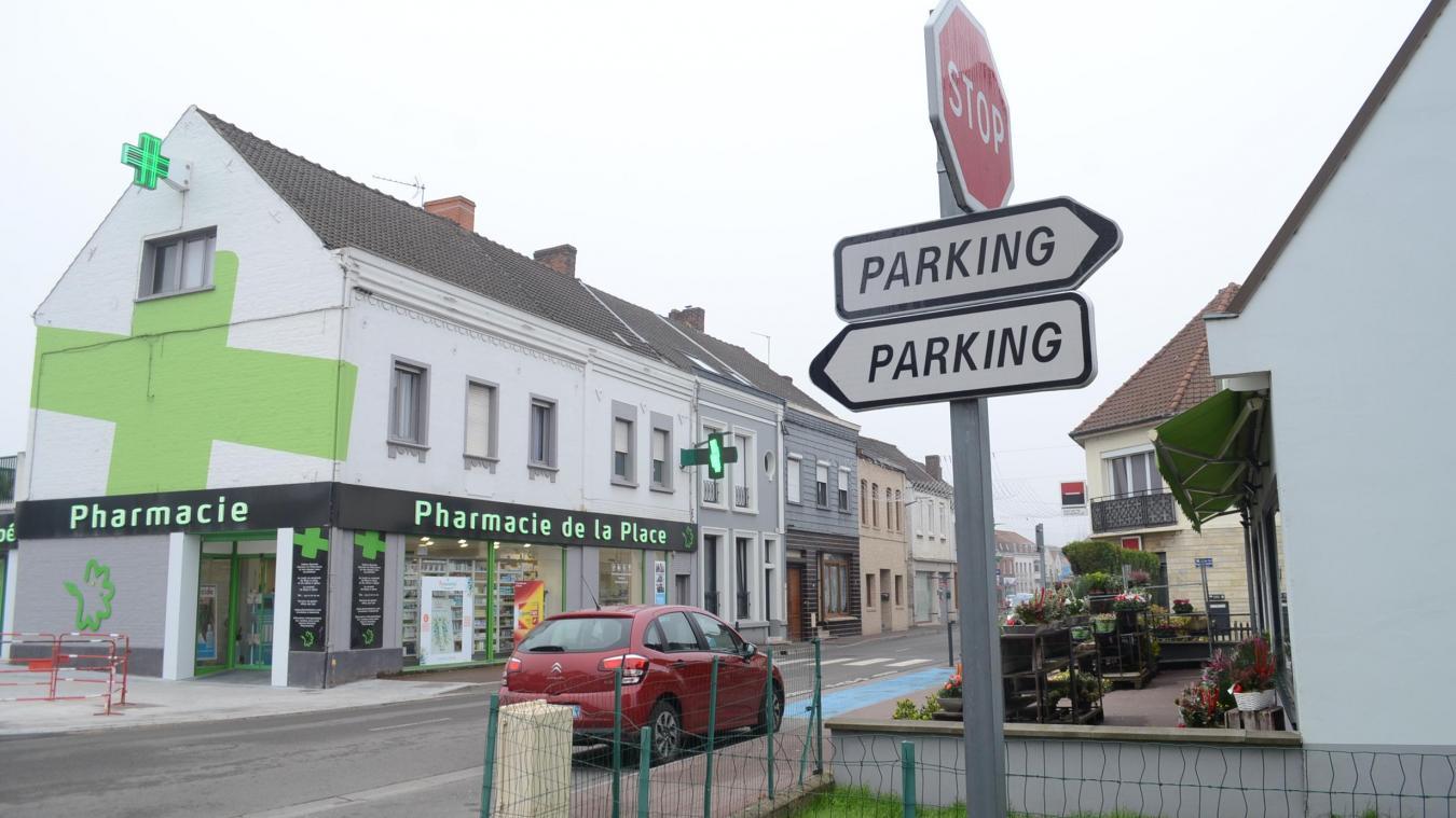 Rien de plus facile que de trouver un parking dans le centre-ville d'Isbergues. Les automobilistes ont même l'embarras du choix.