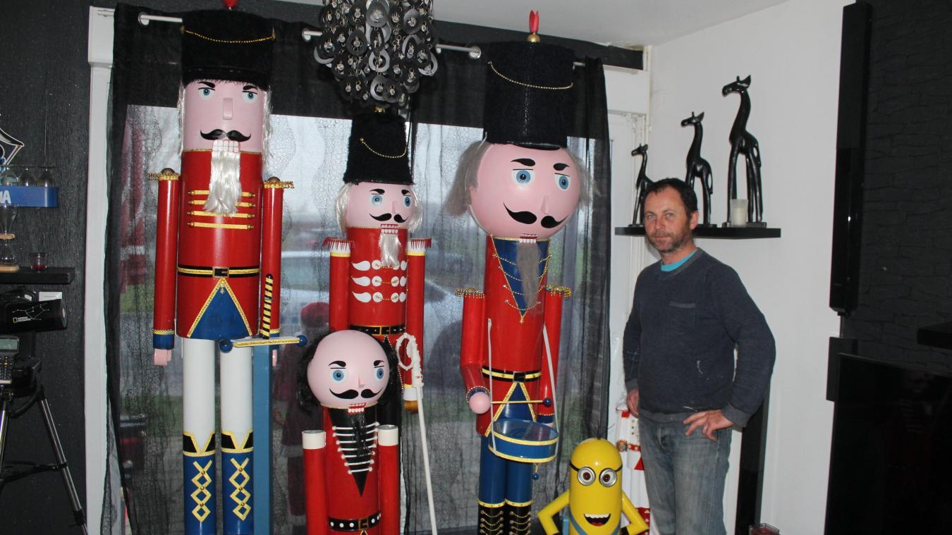 Gonnehem: ces sculptures qui changent la vie de Rudy Peuvrel