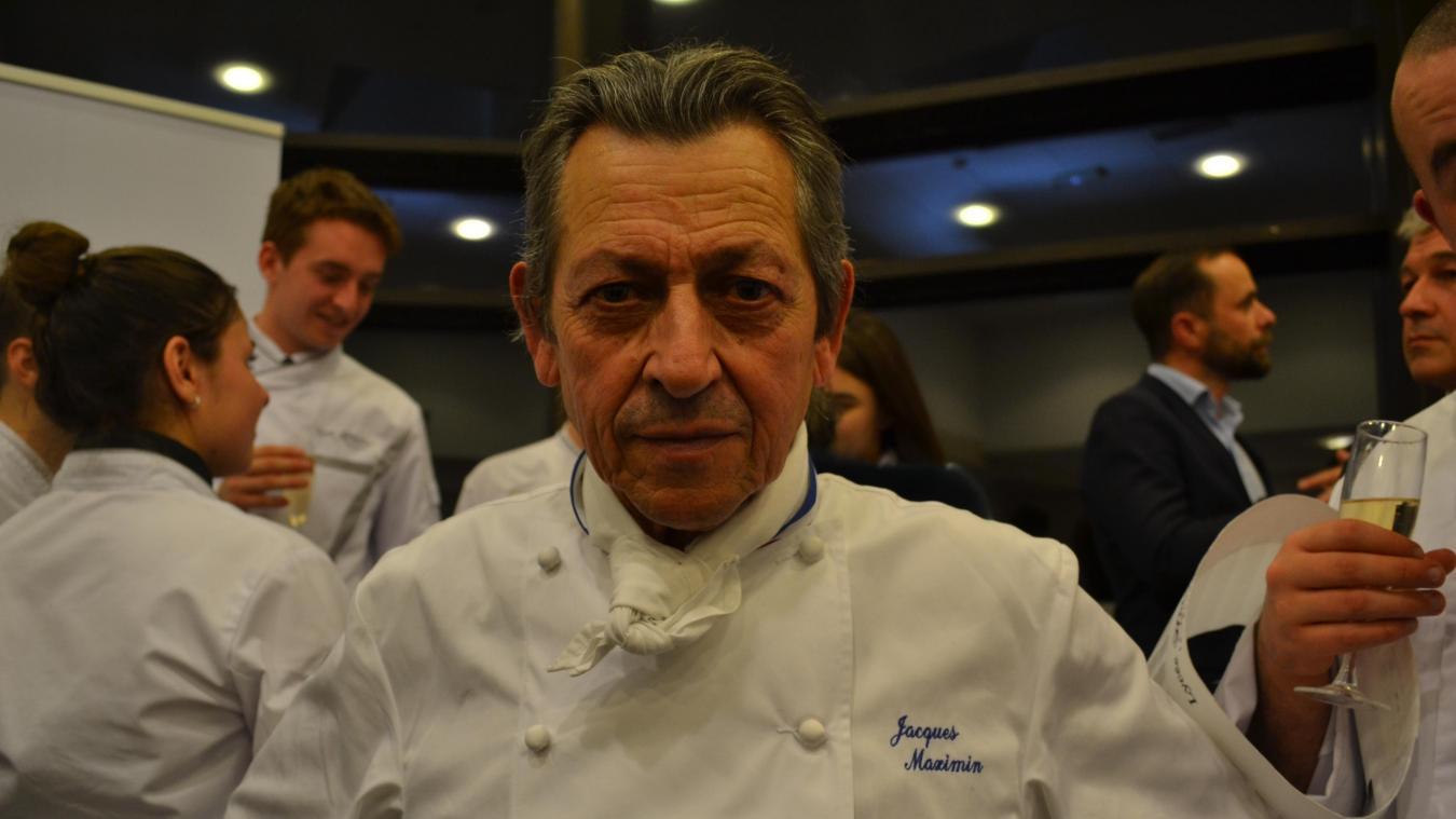 Jacques Maximin, 70 ans, a été élève au lycée de Montreuil. Originaire de Rang-du-Fliers, le restaurant scolaire de la commune porte son nom.