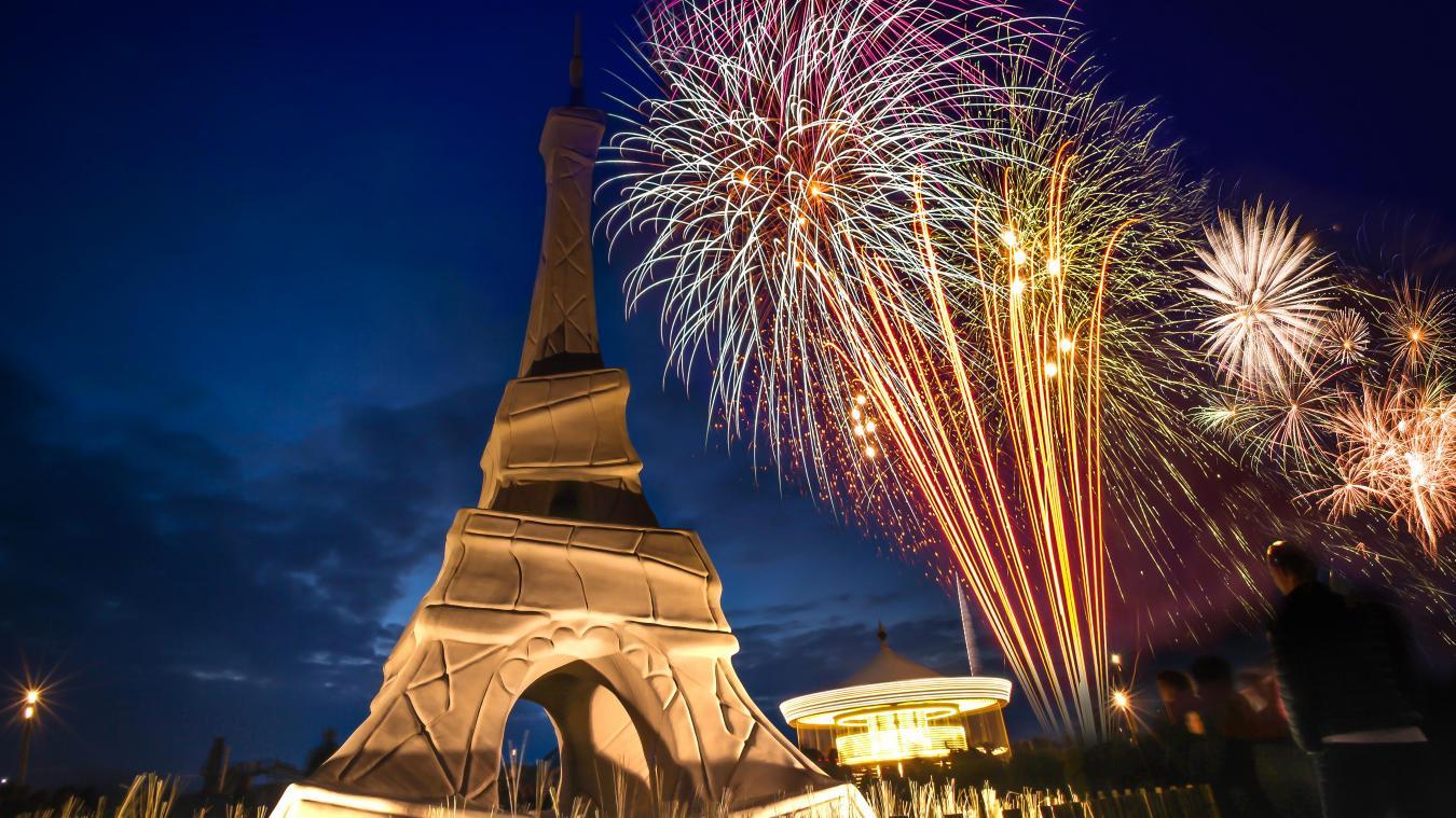 Samedi 1er décembre ne manquez pas le feu d'artifice place du Centenaire à partir de 18h30
