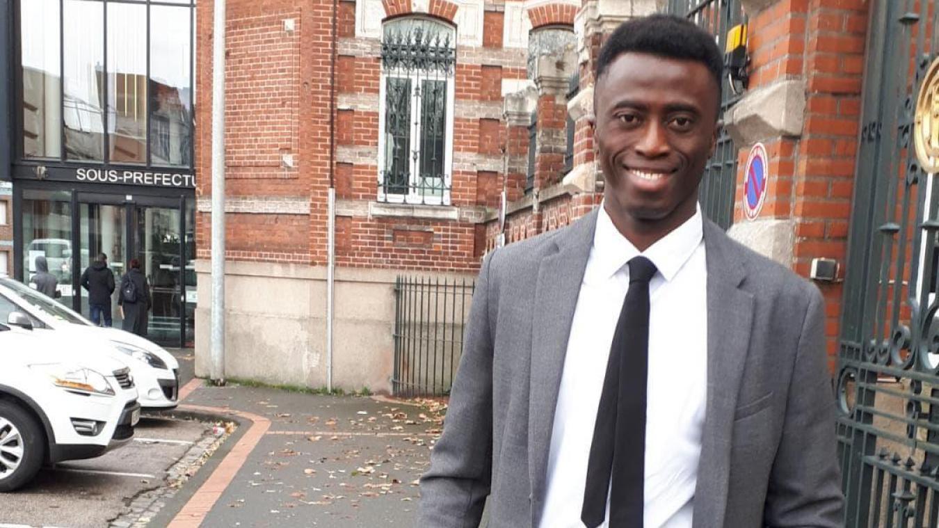 Aboubacar Camara va pouvoir envisager l'avenir.
