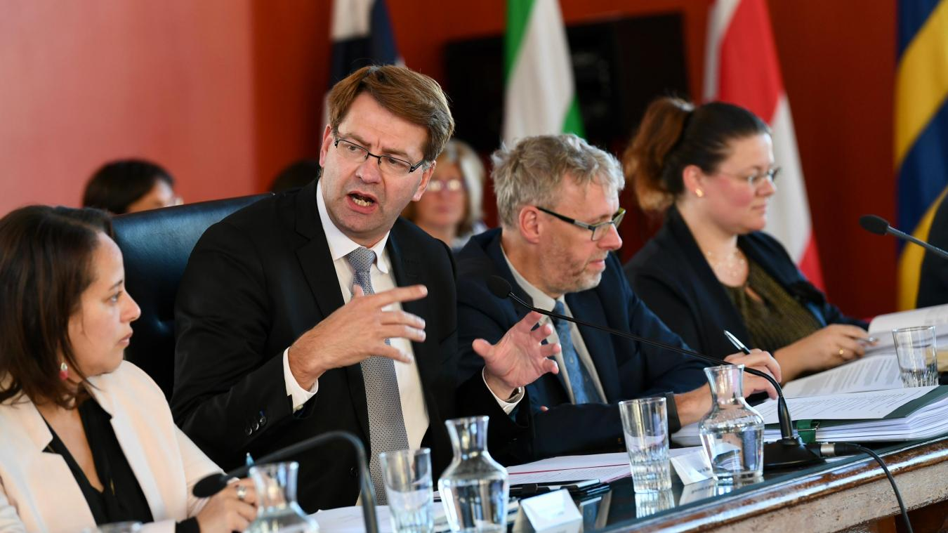 Patrice Vergriete tient à maintenir le cap de ses réformes malgré le désengagement décrié de l'État