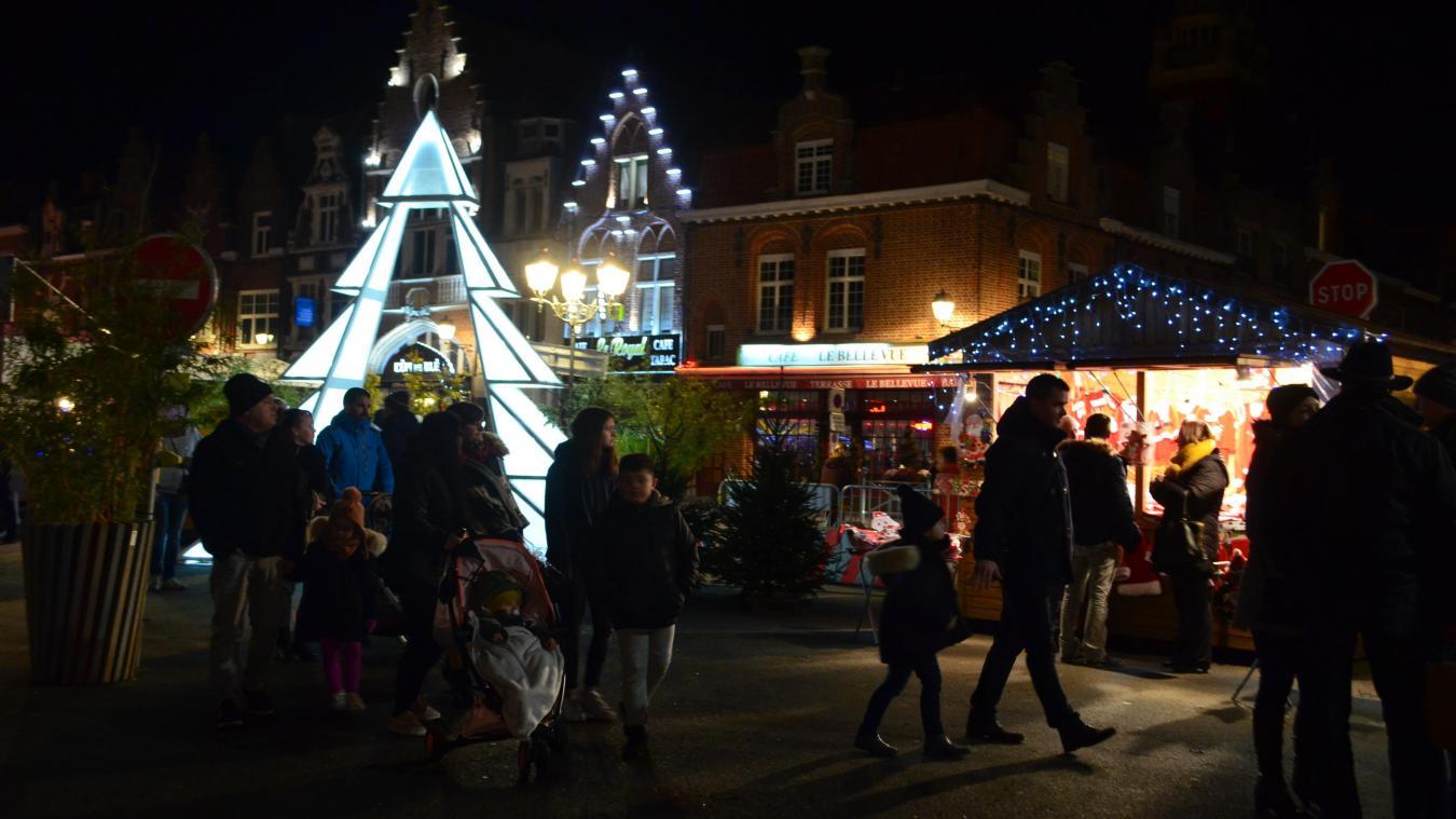Bailleul : Le marché de Noël nouvelle formule est ouvert (photos et vidéo)